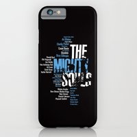 iPhone & iPod Case featuring The Mighty Souls: Jazz Legends by Damien Koh