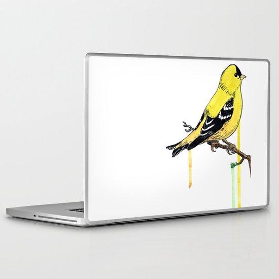 Goldfinch Laptop & iPad Skin