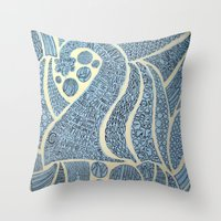 Oration Throw Pillow