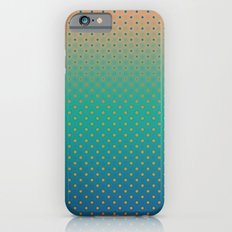 Polka Plankton Blue iPhone 6s Slim Case