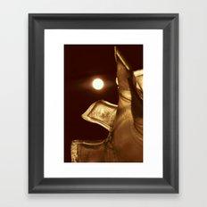 Pillowed Glass Framed Art Print
