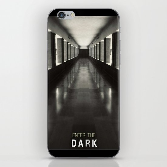 Enter the dark iPhone & iPod Skin