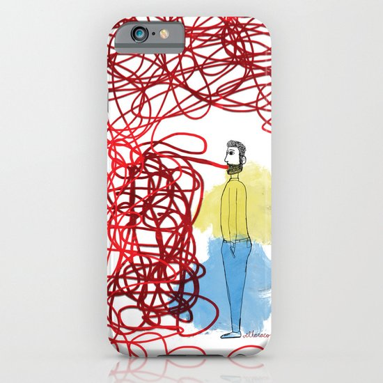 Something hard to say iPhone & iPod Case
