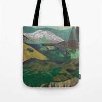 Buffalo Mountains Tote Bag