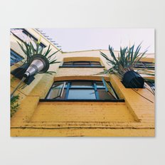 Not So Mellow Yellow Canvas Print