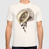 The Bird's Eye Mens Fitted Tee Natural SMALL