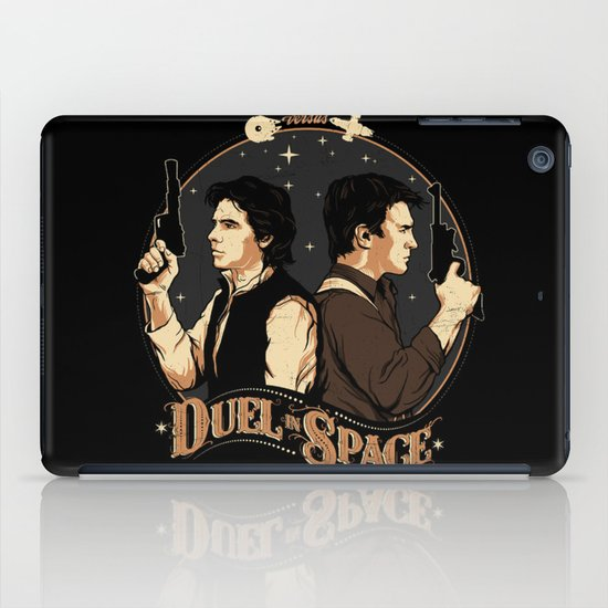 Duel in Space iPad Case