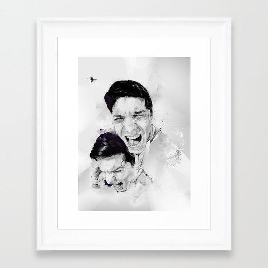 100 Days of Chaos Framed Art Print