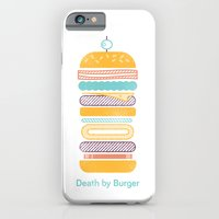 Death by Burger iPhone 6 Slim Case
