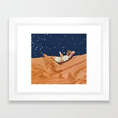 INDEPENDENCE DAY Framed Art Print