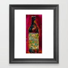 Ithaca Beer Flower Power… Framed Art Print