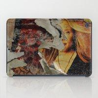 Peeling: Blonde Woman iPad Case