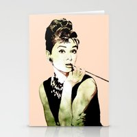MISS GLOLIGHTLY - Breakfast at Tiffany´s - QUOTE Stationery Cards
