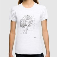 Let It Be Like Breathing Womens Fitted Tee Ash Grey SMALL