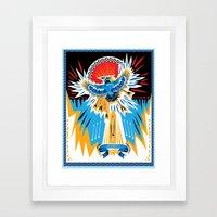 Death to the Blue Jays Framed Art Print