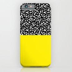 Memphis Black and Yellow 80s iPhone 6 Slim Case