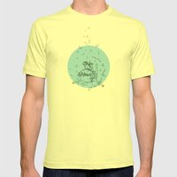 Sea. Mens Fitted Tee Lemon SMALL