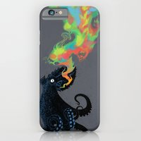 Black Oktopus and his colored ink iPhone 6 Slim Case