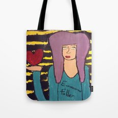 I Wear my Heart Upon my Sleeve Tote Bag