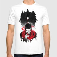 TW: First Blood Mens Fitted Tee White SMALL