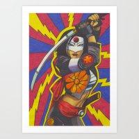 Katana Art Print