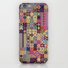 Boho Quilt Pattern 8 Slim Case iPhone 6s