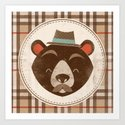 Uncommon Creatures - Bear Art Print