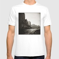 { Adventures } Mens Fitted Tee White SMALL