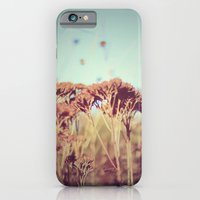 plants - Retro  iPhone 6 Slim Case
