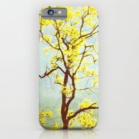 iPhone & iPod Case featuring Yellow Tree by Bella Blue Photography