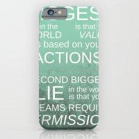 The Biggest Lie iPhone 6 Slim Case