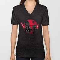 Darth Grandpa Unisex V-Neck