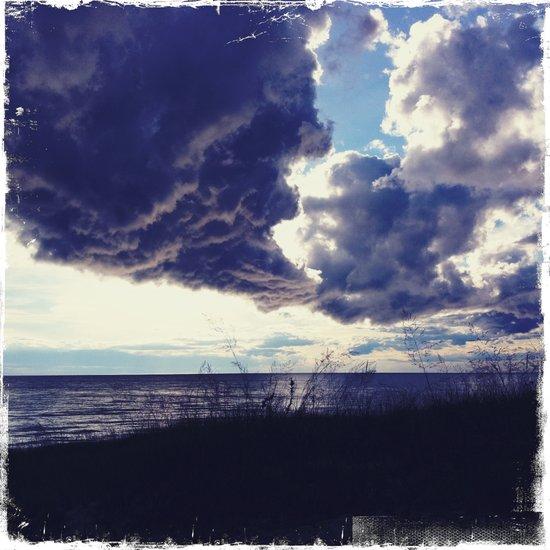 U.P. Clouds Art Print