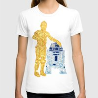 glitter T-shirts featuring Glitter Droids by foreverwars