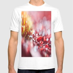 Red For Today Mens Fitted Tee White SMALL