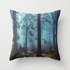 In the Pines Throw Pillow