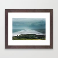 Muriwai Beach, NZ Framed Art Print