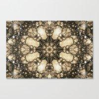 Lacy Mosaic - Fractal Art Canvas Print