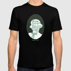 Hamilton Mens Fitted Tee Black SMALL
