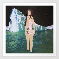 Glacial Pace Art Print