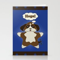 Star Dog Stationery Cards