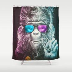 Smoky Shower Curtain