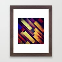 Lygycy Framed Art Print