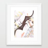 Ecstasy Framed Art Print