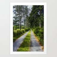 Art Print featuring Country Path Walks by Ian Mitchell