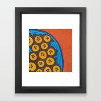 fried plantains Framed Art Print