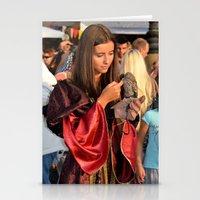 Renaissance Dressed Bea… Stationery Cards