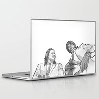 pulp fiction Laptop & iPad Skins featuring pulp by BzPortraits