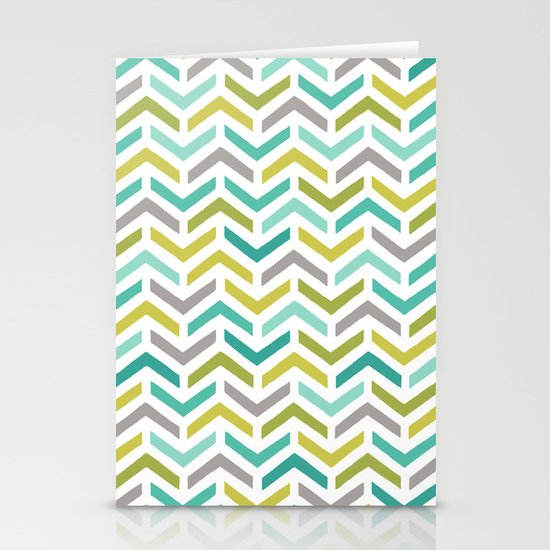 Ripples Dusk Stationery Card