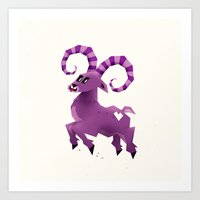 Aries! Art Print